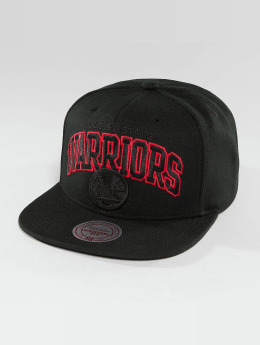 Mitchell & Ness Casquette Snapback & Strapback Red Pop Golden State Warriors noir