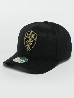 Mitchell & Ness Casquette Snapback & Strapback he Black And Golden 110 Cleveland Cavaliers noir