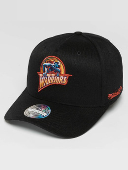 Mitchell & Ness Casquette Snapback & Strapback NBA HWC Eazy 110 Curved Golden State Warriors noir