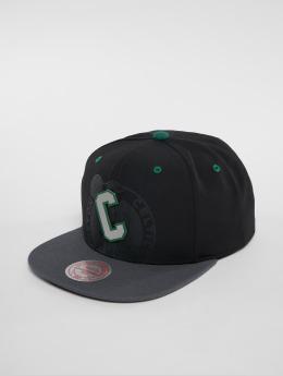 Mitchell & Ness Casquette Snapback & Strapback NBA Bosten Celtics Reflective 2 Tone noir