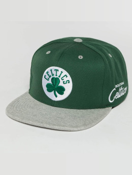 Mitchell & Ness Casquette Snapback & Strapback The 2-Tone Grey Heather Arch-Bound Boston Celtics vert