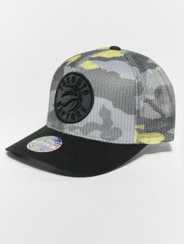 Mitchell & Ness Casquette Trucker mesh NBA Flou Camo Toronto Raptors 110 Curved camouflage