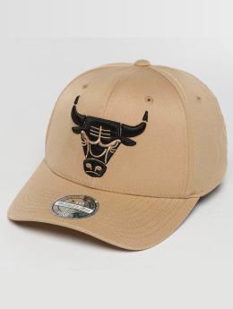 Mitchell & Ness The sand and Black 2-Tone NBA Chicago Bulls Snapback Cap Sand