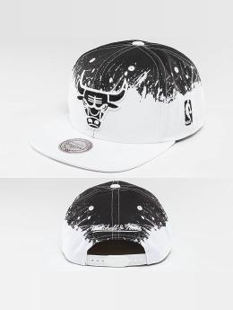 Mitchell & Ness Gorra Snapback Spatter Chicago Bulls blanco