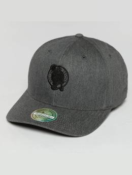 Mitchell & Ness Heather Melange Boston Celtics 110 Flexfit Snapback Cap Grey