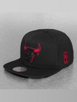 Mitchell & Ness Gorra Snapback Solid Teams Siren Chicago Bulls negro
