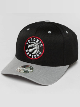 Mitchell & Ness The Current 2-Tone Toronto Raptors Snapback Cap Black/Grey Heather