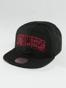 Mitchell & Ness Red Pop Cleveland Cavaliers Snapback Cap Black