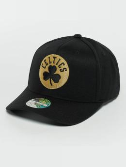Mitchell & Ness The Black And Golden 110 Boston Celtics Snapback Cap Black