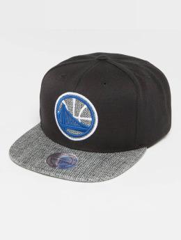 Mitchell & Ness Woven TC NBA Golden State Warriors Snapback Cap Black/Grey