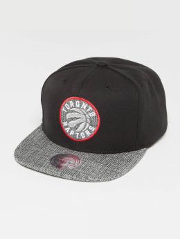 Mitchell & Ness Woven TC NBA Toronto Raptors Snapback Cap Black/Grey