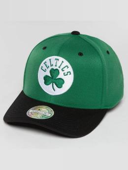 Mitchell & Ness The Current 2-Tone Boston Celtics Snapback Cap Green/Black