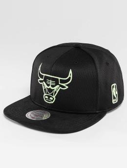Mitchell & Ness Snapback Black Sports Mesh Chicago Bulls èierna