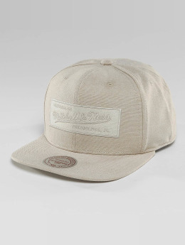 Mitchell & Ness Snapback Cap Italian Washed beige