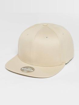 Mitchell & Ness snapback cap Blank Flat Peak beige