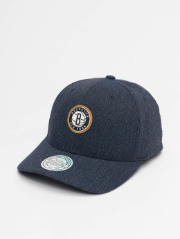 Mitchell & Ness Snapback Cap NBA Kraft Brooklyn Nets 110 blau