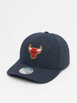 Mitchell & Ness Snapback Cap NBA Kraft Chicago Bulls 110 blau