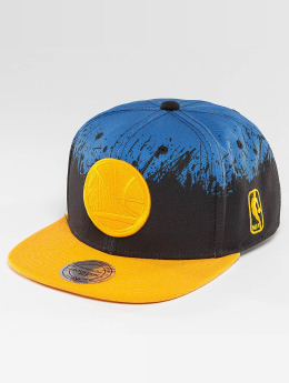Mitchell & Ness snapback cap Splatter Golden State Warriors blauw