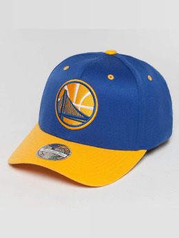 Mitchell & Ness The Current 2-Tone Golden State Warriors Snapback Cap Royal/Yellow