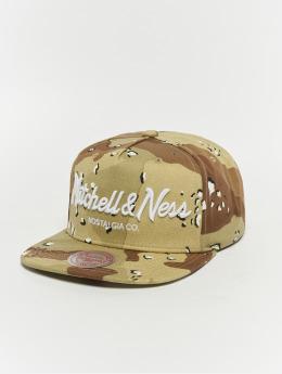 Mitchell & Ness Snapback Cap Pinscript camouflage