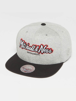 Mitchell & Ness Snapback Cap The 3-Tone Own Brand Pinscript grau