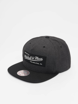 Mitchell & Ness Snapback Cap Own Brand Woven Reflective grau