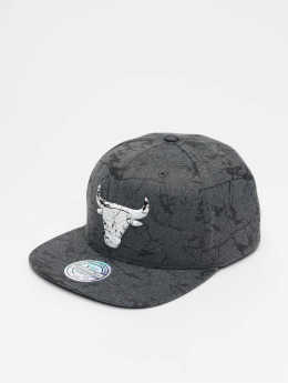 Mitchell & Ness Snapback Cap NBA Chicago Bulls Marble grau