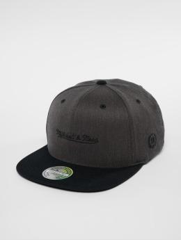 Mitchell & Ness Snapback Cap NBA Own Brand Logo 110 Flat grau