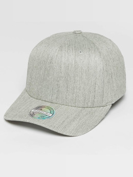 Mitchell & Ness Snapback Cap Blank Flat Peak gray