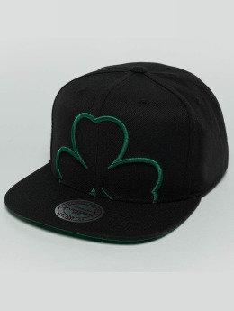 Mitchell & Ness Snapback Cap Raised Perimeter Boston Celtics green