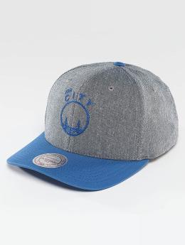 Mitchell & Ness NBA Link Flexfit 110 Golden State Warriors Snapback Cap Grey/Blue
