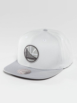 Mitchell & Ness Snapback Cap Grey 2 Tone Plus Series Golden State Warriors grigio