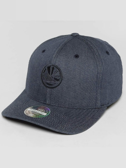 Mitchell & Ness Heather Melange Golden State Warriors 110 Flexfit Snapback Cap Grey
