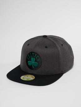 Mitchell & Ness Snapback Cap NBA Bosten Celtics 2 Tone 110 Flat grigio