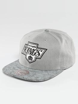 Mitchell & Ness snapback cap NHL Cracked LA Kings grijs
