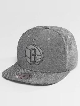 Mitchell & Ness snapback cap NBA Italian Washed Brooklyn Nets grijs