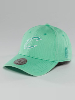 Mitchell & Ness snapback cap NBA Pastel 2-Tone Logo Cleveland Cavaliers groen