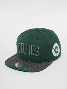 Mitchell & Ness HWC Bosten Celtics Melange Patch Snapback Cap Green/Grey