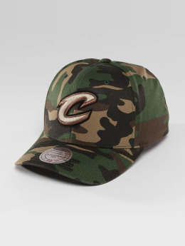 Mitchell & Ness Snapback Cap NBA Woodland Camo And Suede mimetico