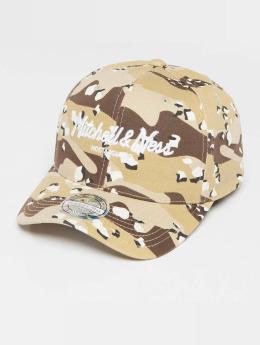 Mitchell & Ness Own Brand Pinscript High Crown 110 Snapback Cap Desert