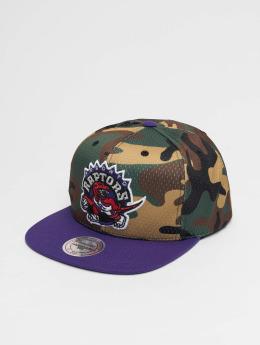 Mitchell & Ness Snapback Cap Woodland Toronto Raptors Cover mimetico