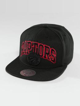 Mitchell & Ness Red Pop Toronto Raptors Snapback Cap Black