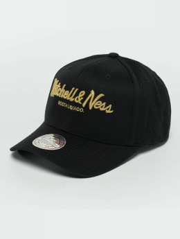 Mitchell & Ness Snapback Cap The Black And Golden 110 nero