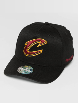 Mitchell & Ness NBA Eazy 110 Curved Cleveland Cavaliers Snapback Cap Black