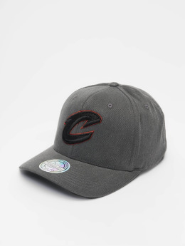 Mitchell & Ness Snapback Cap NBA Cleveland Cavaliers Washed Denim 110 Curved nero