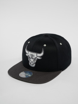 Mitchell & Ness Snapback Cap NBA Chicago Bulls nero