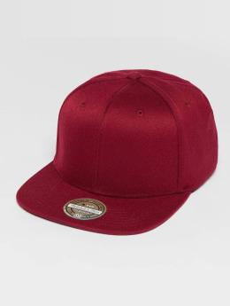 Mitchell & Ness snapback cap Blank Flat Peak rood