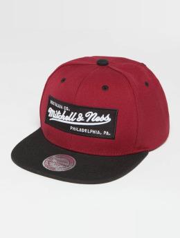 Mitchell & Ness Snapback Cap Own Brand Box Logo rot