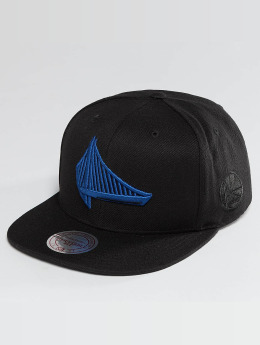 Mitchell & Ness Snapback Cap NBA Elements Golden State Warriors schwarz