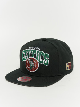 Mitchell & Ness Snapback Cap Black Team Arch Boston Celtics schwarz